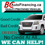 Car Loans BC Auto Financing